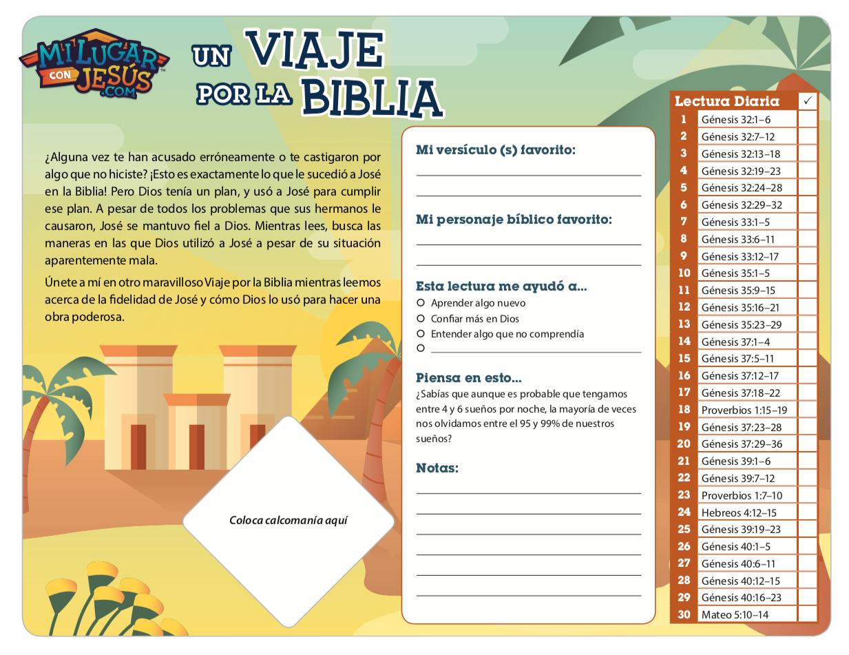 Lectura biblica mensual abril 2019