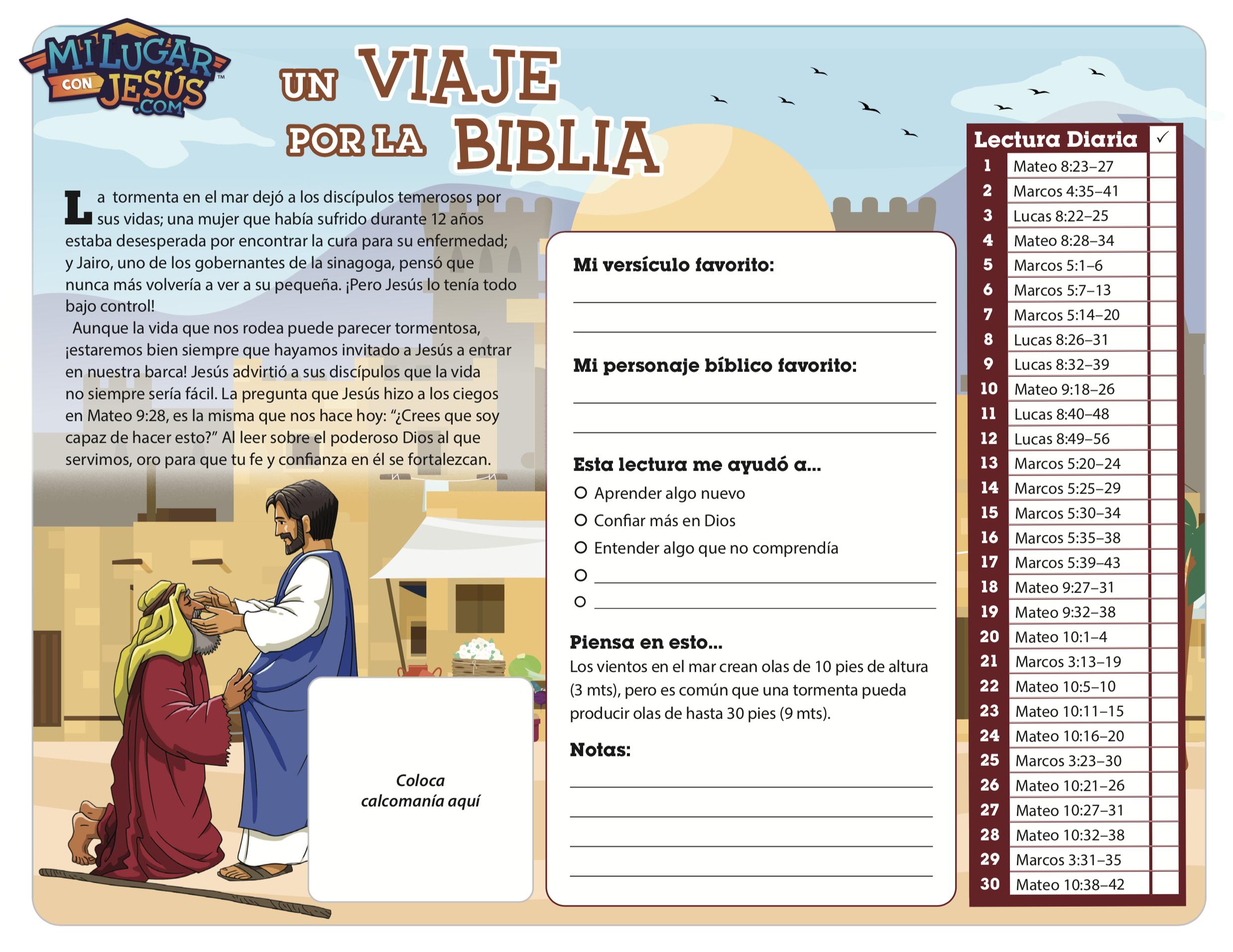Lectura biblica mensual mayo 2020