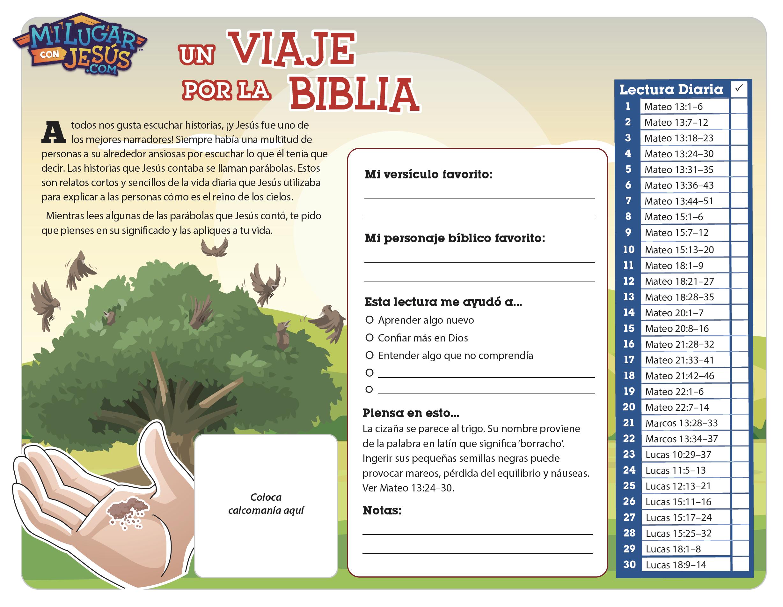 Lectura biblica mensual junio 2020