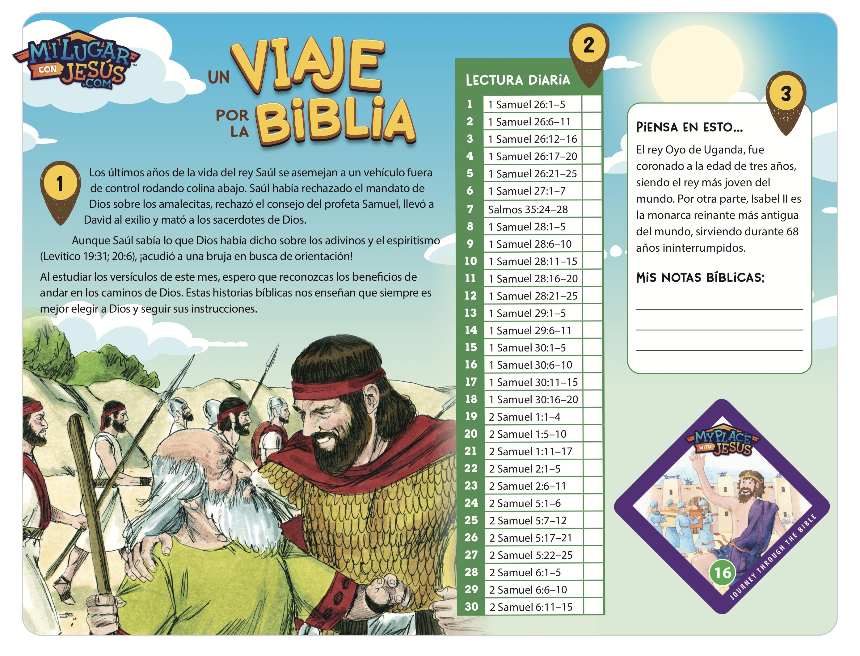 Lectura biblica mensual abril 2021