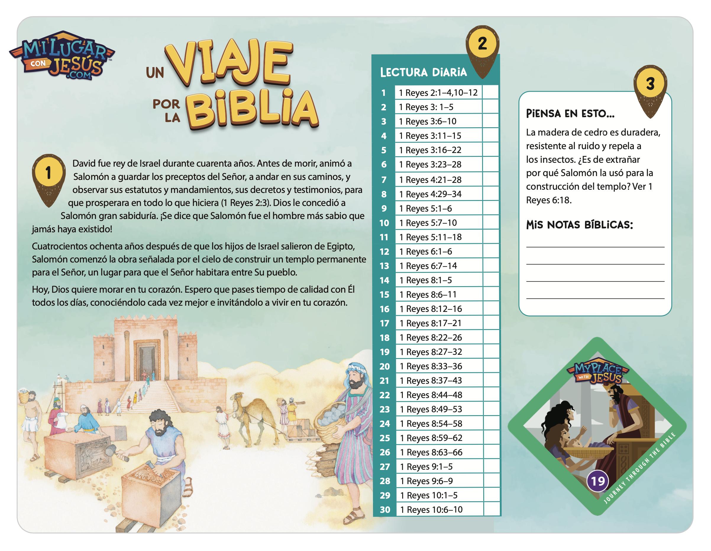Lectura biblica mensual julio 2021